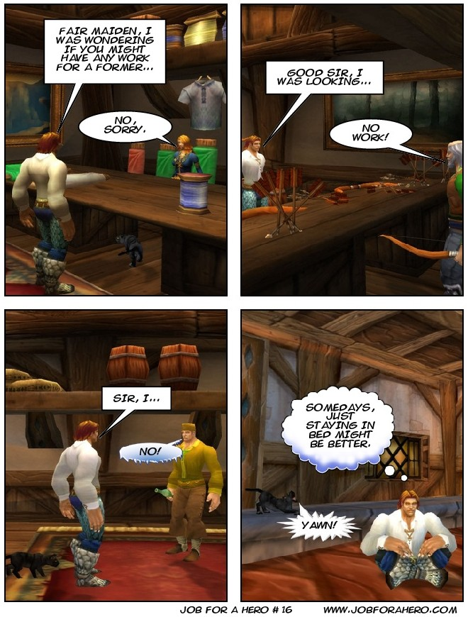 Job for a Hero # 16