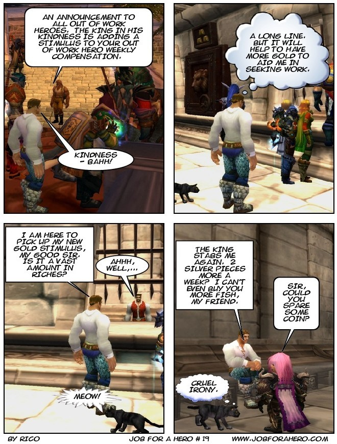 Job for a Hero # 19