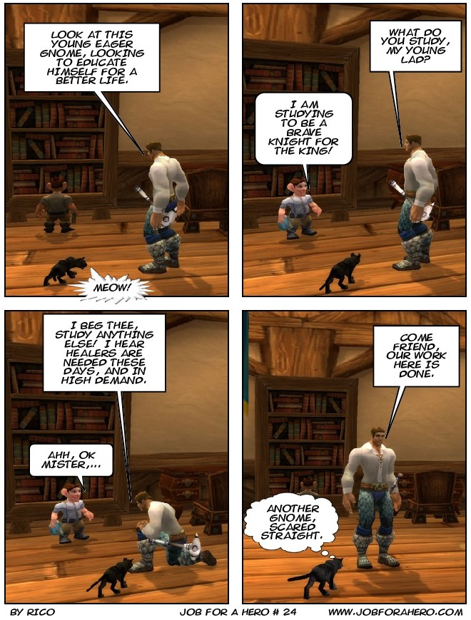 Job for a Hero # 24
